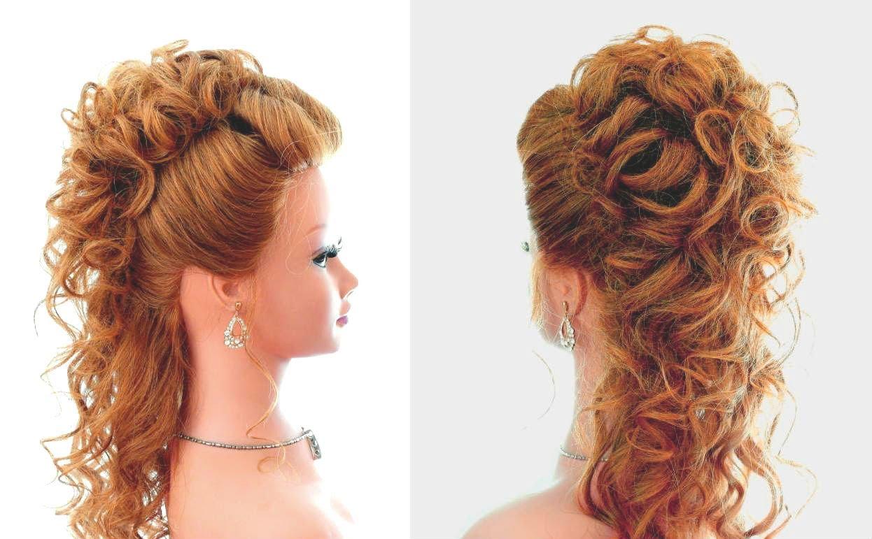 Фото вечерних причёсок на выпускной